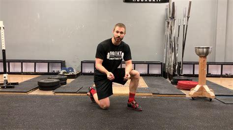 strained hip flexor squats