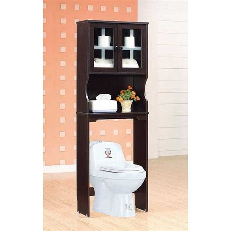 Strausbaugh Bathroom 24 W x 67 H Over the Toilet Storage