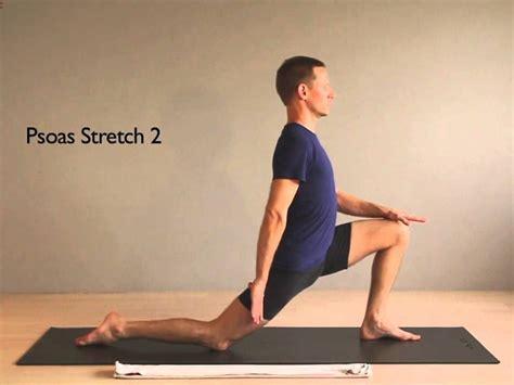 stretch for hip flexor psoas stretches apparatus plural