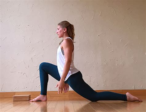 stretch hip flexors poses drawing female hands