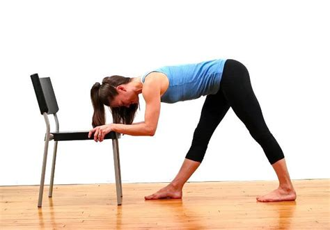 stretch hip flexors poses reference sitting in a chair