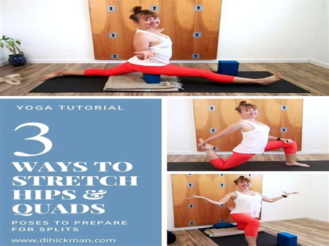 stretch hip flexors poses references chibi