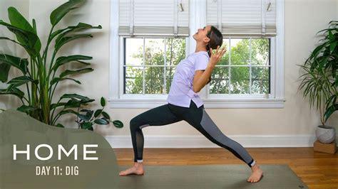 stretch hip flexors yoga with adrienne 30 days