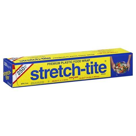stretch tight plastic wrap 2500 sq foot