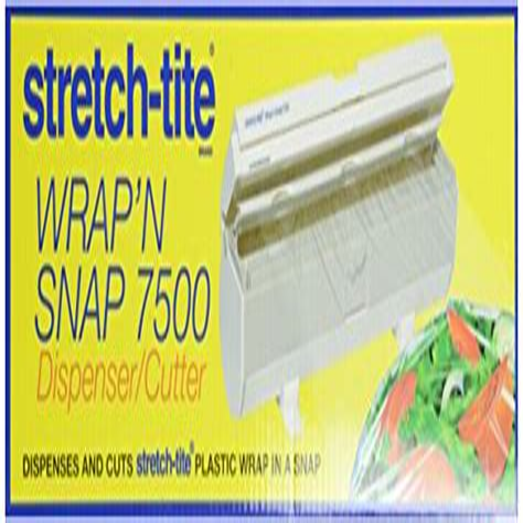 stretch tight plastic wrap dispenser