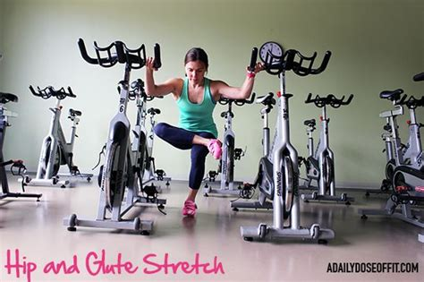 stretch your hip flexors piriformis and glutes when you ride a bicycle