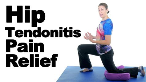 stretches and exercises for hip tendonitis