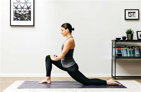 stretches for hip flexor muscles tightening all over body