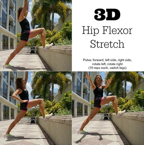 stretching a hip flexor strains in runners warehouse shoes