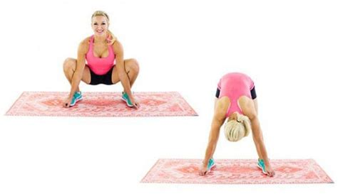 stretching hip flexors before squats after squats i get pain when i lay
