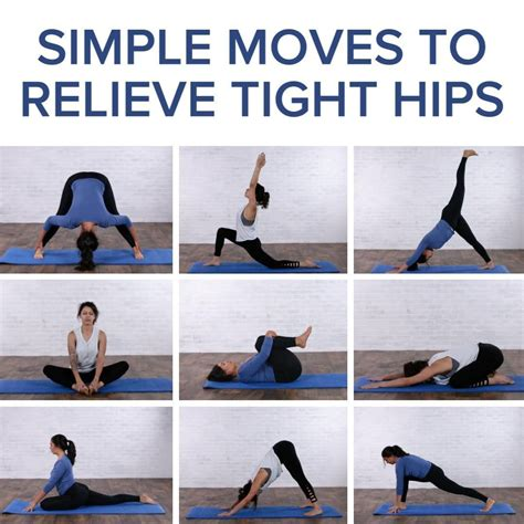 stretching program for tight hips yoga