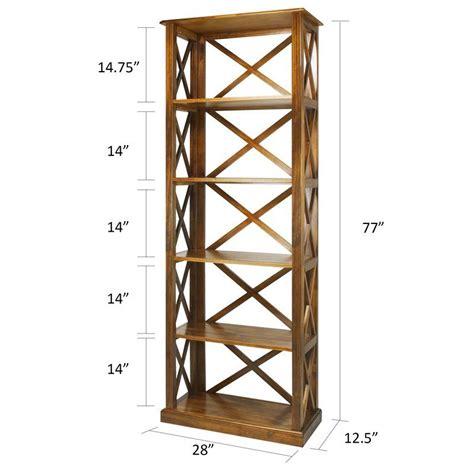 Stronghurst 6-Shelf Standard Bookcase