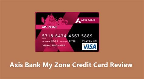 Student Credit Card Axis Bank Axis Bank My Zone Credit Card Apply Online For Offers