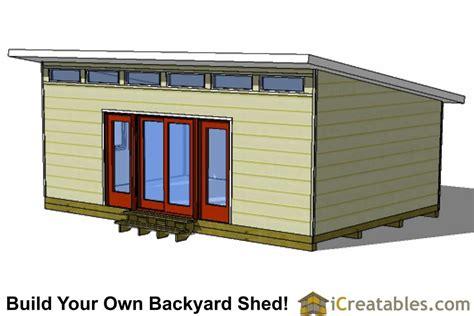 Studio Shed Plans