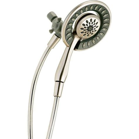 Stylish Square Faucet Dual Function Dual Shower Head Complete Shower System