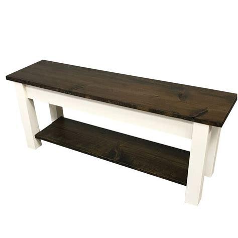 Su Wood Storage Bench