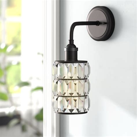 Suismon 1-Light Bath Sconce