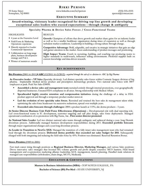 example resume summary statements   Template Executive Assistant Resume Sample