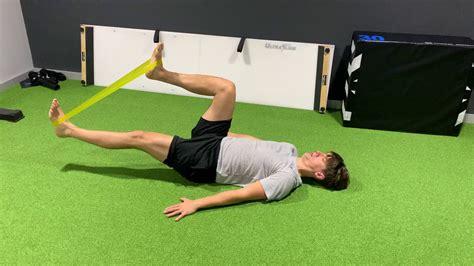 supine hip extension stretch amputee pretender videos