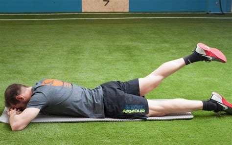 supine hip extension stretch assisted