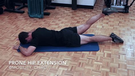 supine hip extension stretch elderly