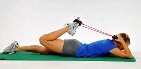 supine hip flexor stretches w \/ partnership health plan
