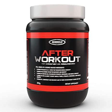 supplement for sore muscles after workout