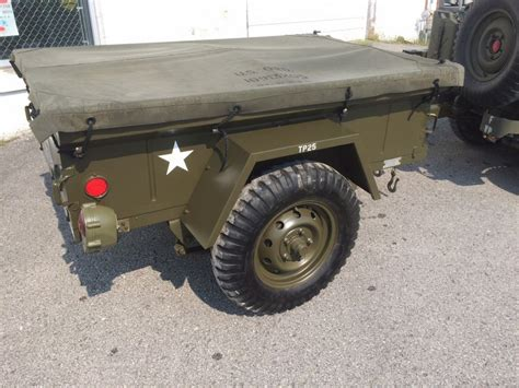 Army-Surplus Surplus Army Jeep Trailer.