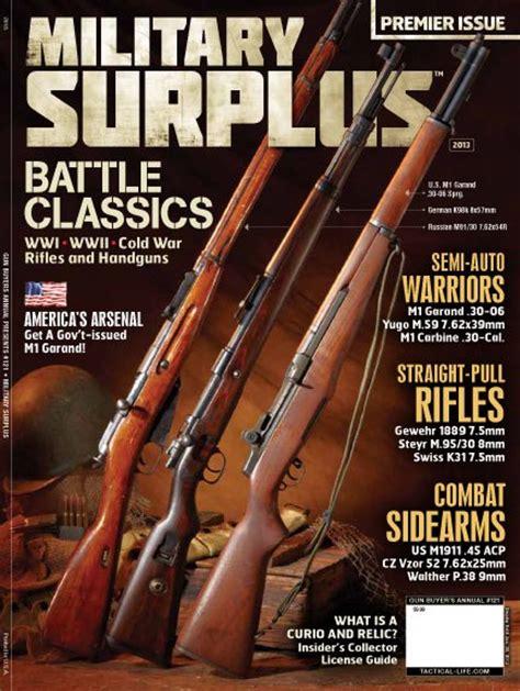 Army-Surplus Surplus Army Magazine.