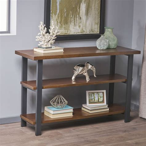 Swainsboro Industrial Wood Standard Bookcase