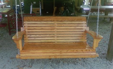 Swinging Bench Plans