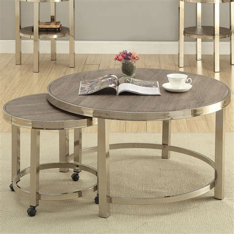 Sylvester 2 Piece Coffee Table Set