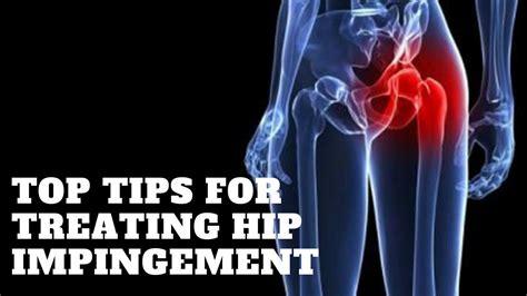 symptoms of hip flexor impingement meaning