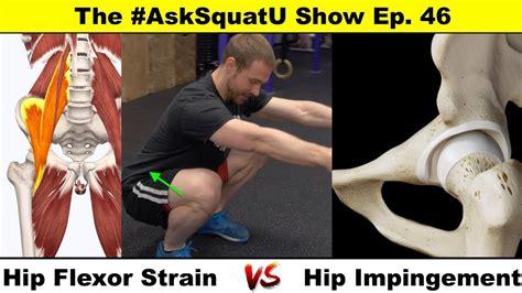symptoms of hip flexor impingement syndrome shoulder
