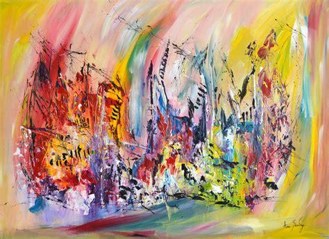 Tableau Artiste Moderne Peinture   Passion Peinture Contemporaine Tableau Abstrait