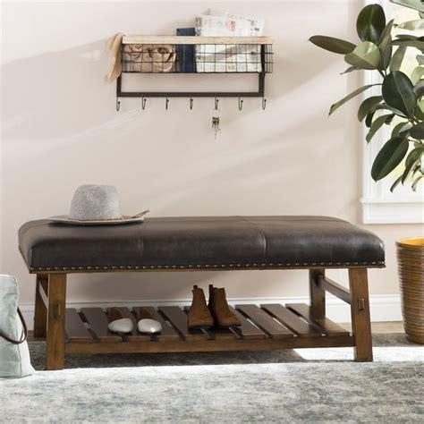 Tabron Fabric Storage Bench
