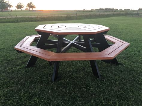 Tall Octagon Picnic Table Plans