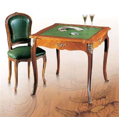 Tavolo Da Gioco Classico