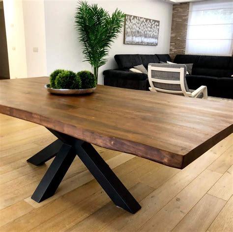 Tavolo Moderno Legno Massello Allungabile