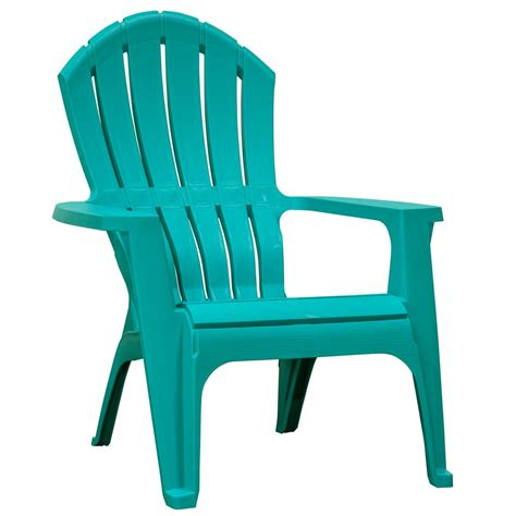 Teal Plastic Adirondack Chairs