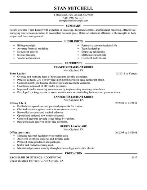 Team Lead Job Resume The Resume That Will Move You From Team Lead To Software