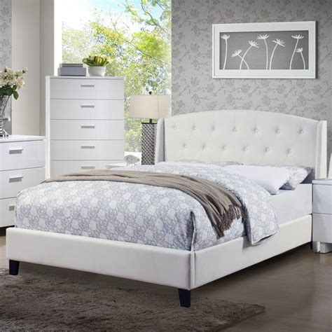Teemo Upholstered Platform Bed by A&J Homes Studio