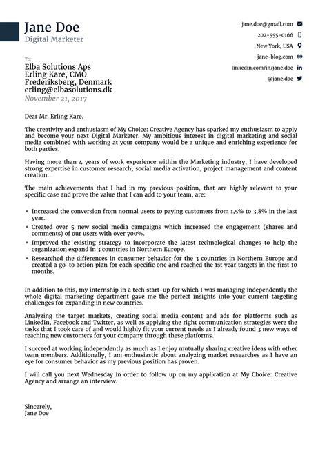 sample cover letter for journal
