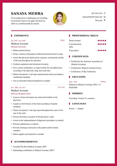 Templates For Simple Resumes Free Free Sample Resumes Resume Writing Tips Writing A