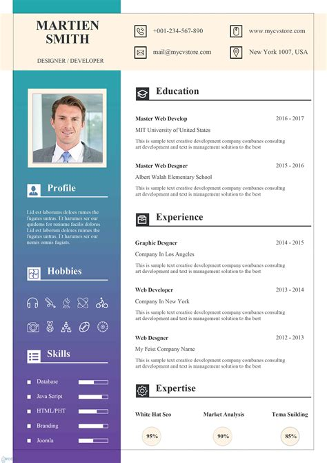 Templates For Acting Resumes Photo Resume Templates Canva