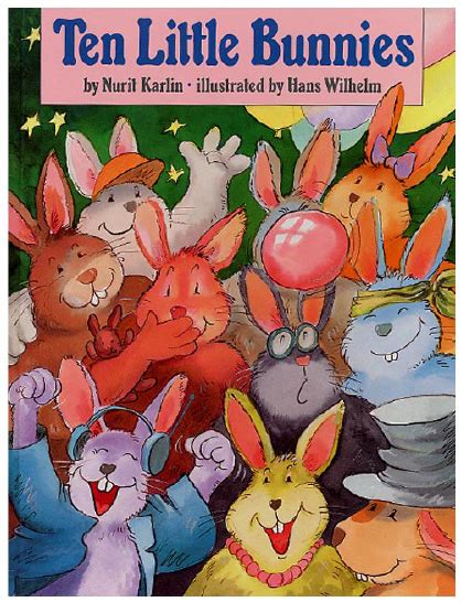Read Books Ten Little Bunnies Online