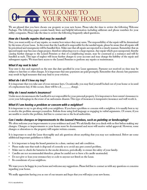 reference letter for my tenant tenant welcome letter income property