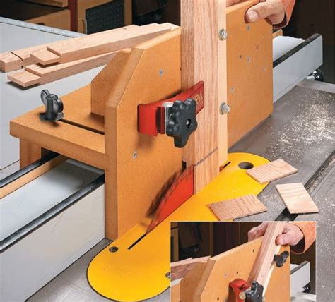 Tenon Jig For Table Saw