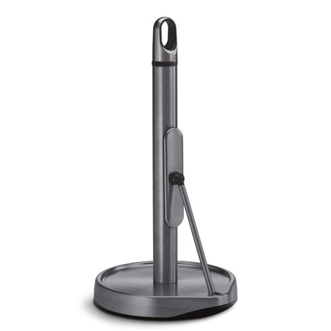 Tension Arm Paper Towel Holder Stainless Steel .