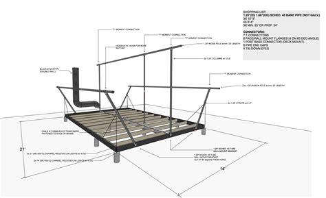 Tent Platform Woodworking Plans
